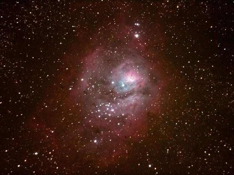 M8 Lagoon Nebula - Chris Tacke